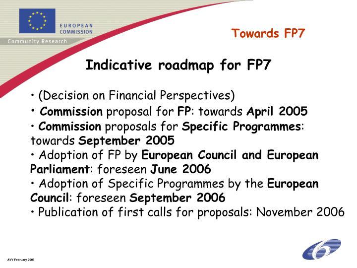 Towards FP7
