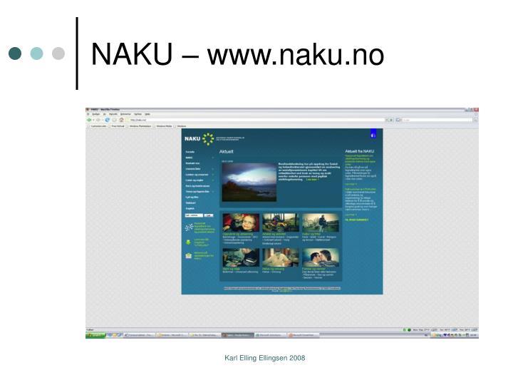 NAKU – www.naku.no
