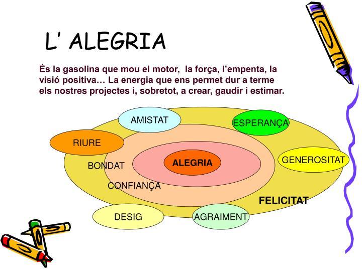 L' ALEGRIA