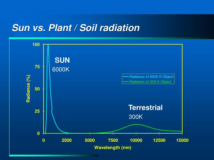 Sun vs. Plant / Soil radiation