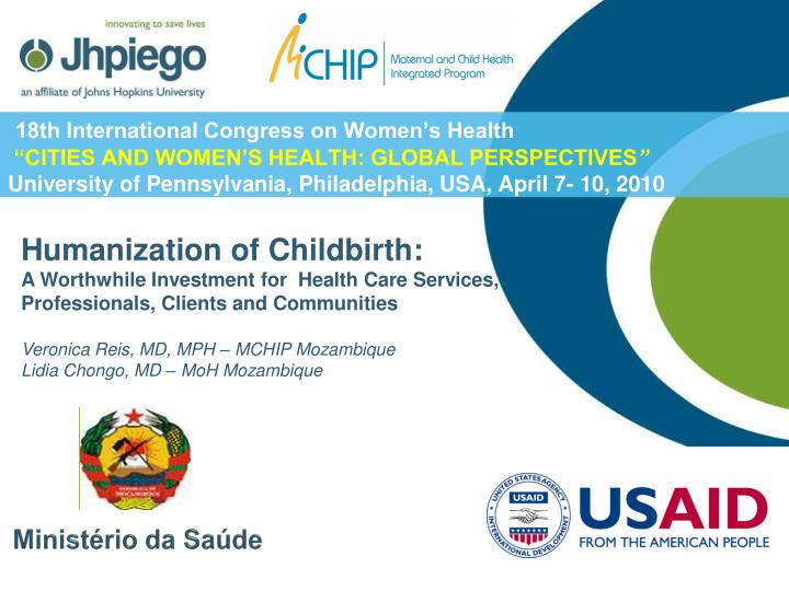 18th International Congress on Women's Health
