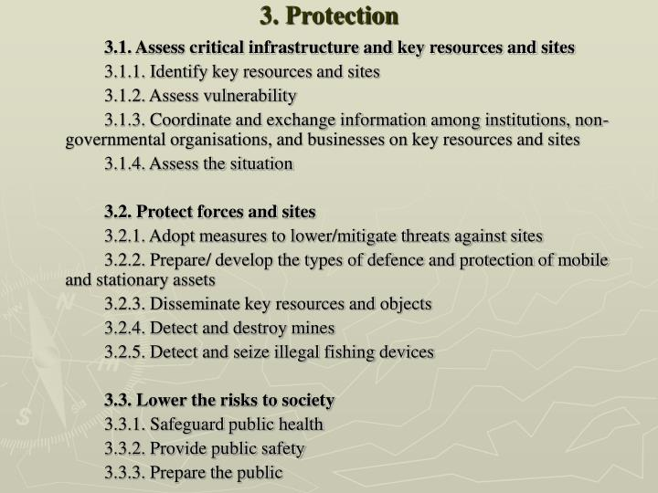 3. Protection