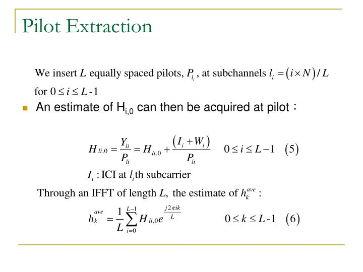 An estimate of H