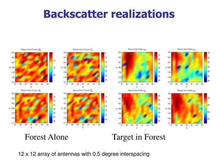 Backscatter realizations