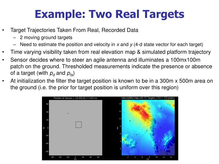 Example: Two Real Targets