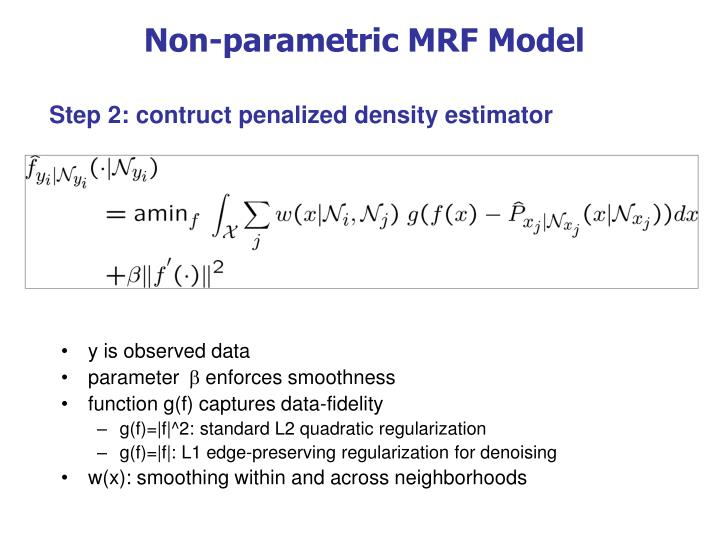 Non-parametric MRF Model