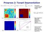 progress 2 target segmentation
