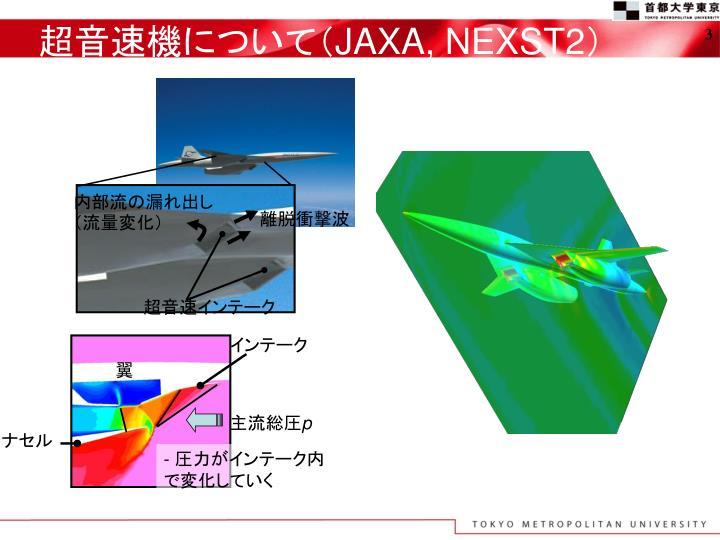 超音速機について(