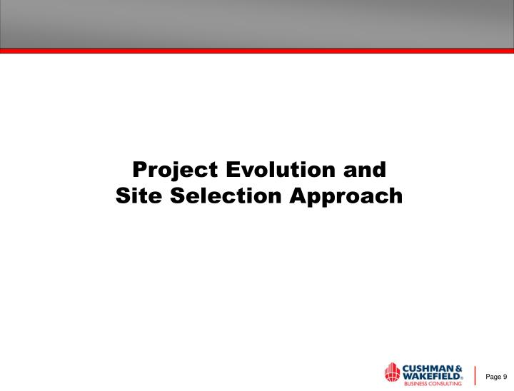 Project Evolution and