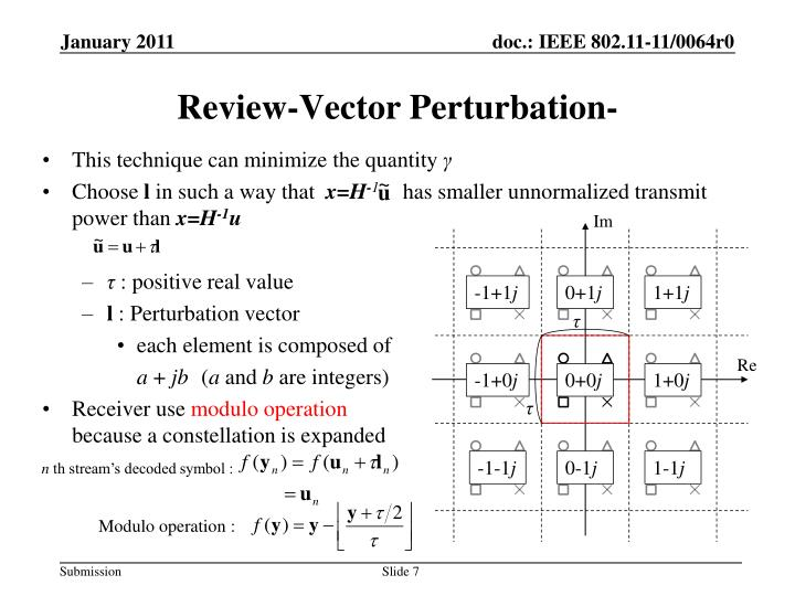 Review-Vector Perturbation-