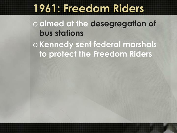 1961: Freedom Riders