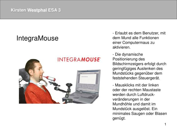 IntegraMouse