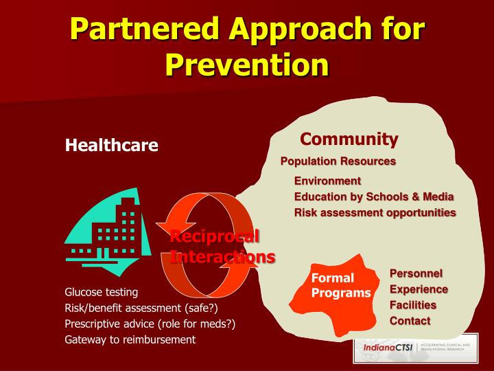 Partnered Approach for Prevention
