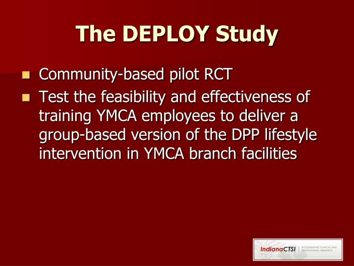 The DEPLOY Study