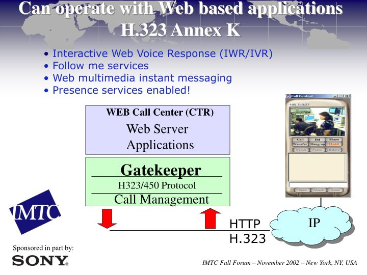 Interactive Web Voice Response (IWR/IVR)