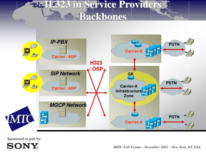 H.323 in Service Providers