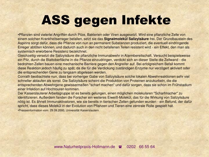ASS gegen Infekte