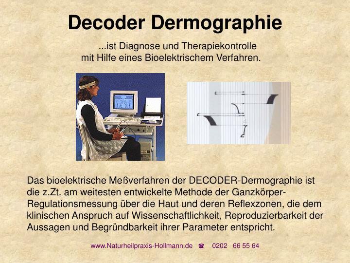 Decoder Dermographie