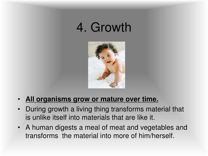 4. Growth