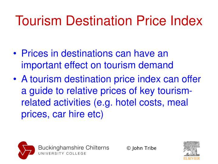 Tourism Destination Price Index