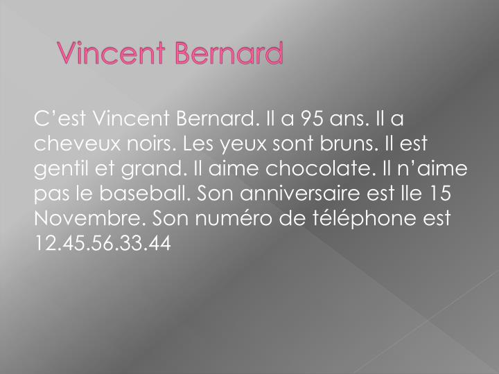 Vincent Bernard