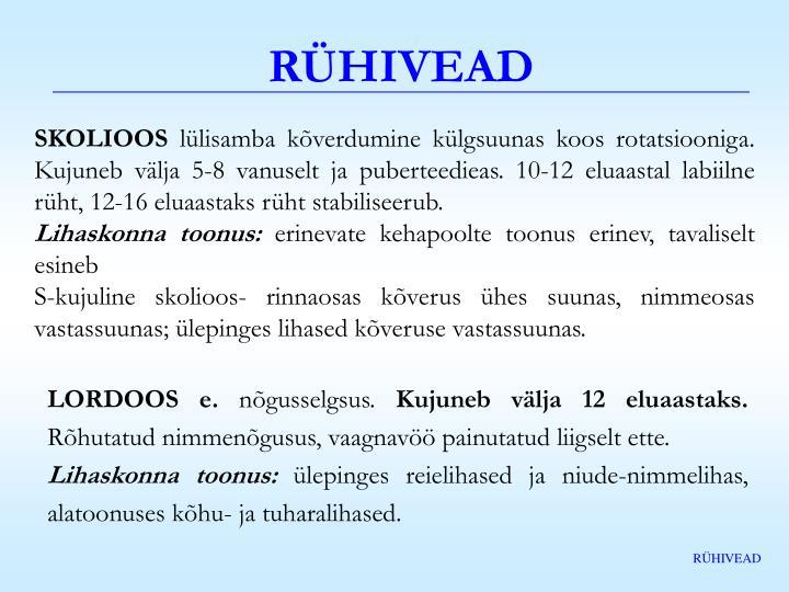 RÜHIVEAD