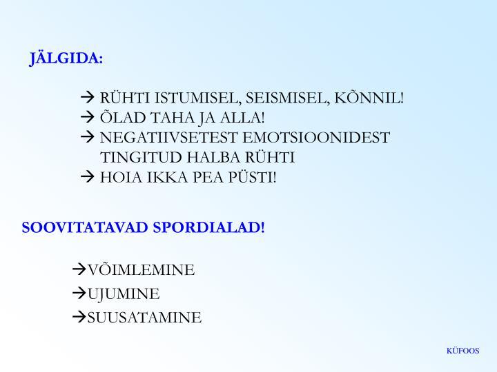 JÄLGIDA: