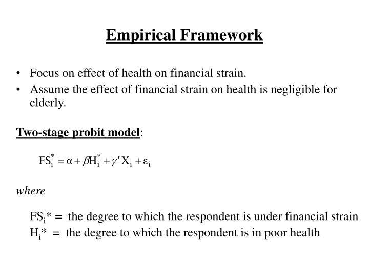Empirical Framework
