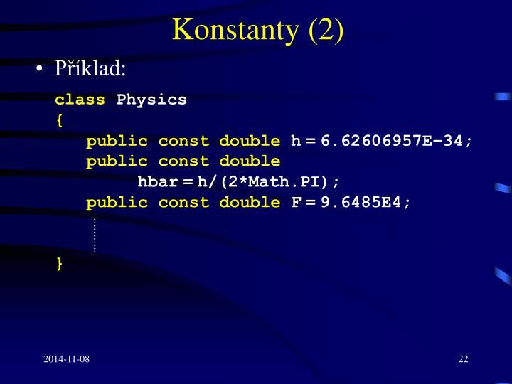 Konstanty (2)