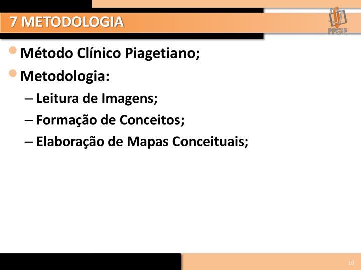 7 METODOLOGIA