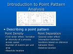 introduction to point pattern analysis2