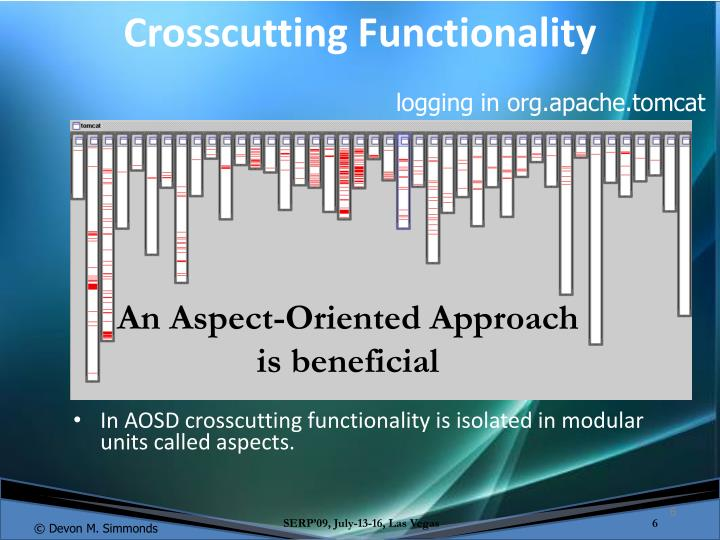 Crosscutting Functionality