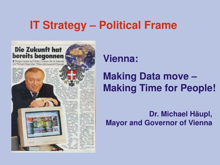 IT Strategy – Political Frame