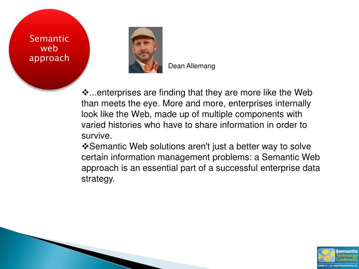 Semantic web approach