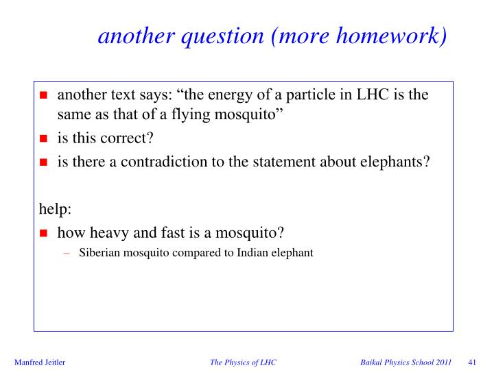another question (more homework)
