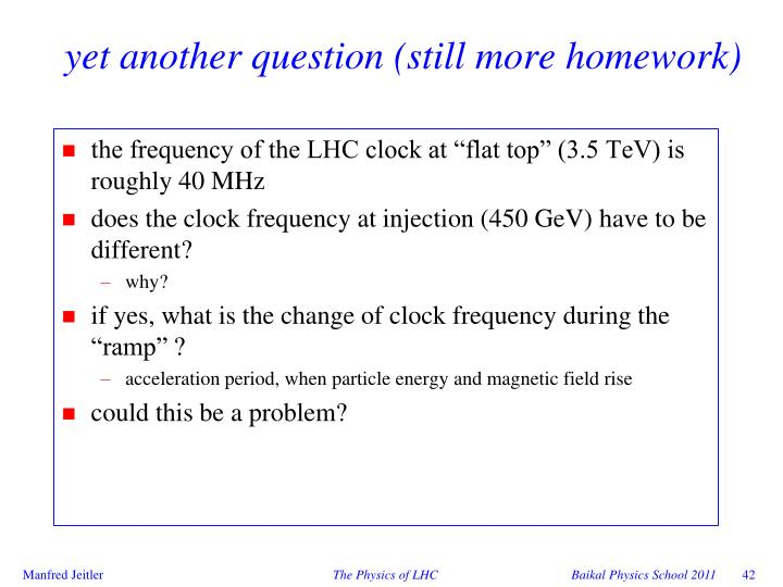 yet another question (still more homework)