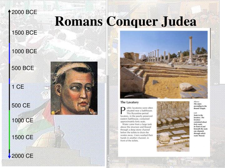 Romans Conquer Judea
