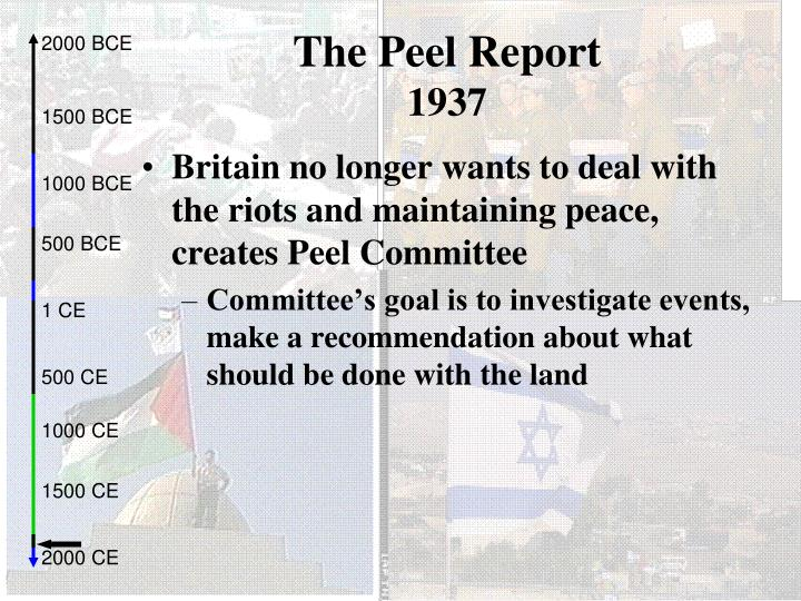 The Peel Report