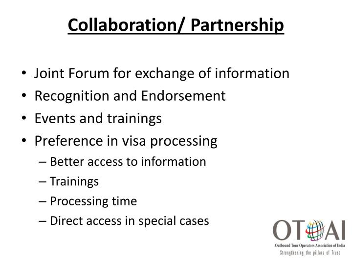Collaboration/ Partnership