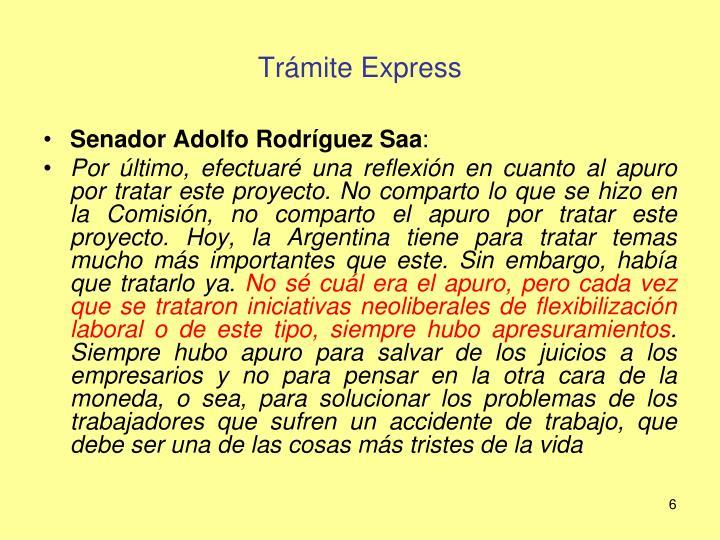 Trámite Express