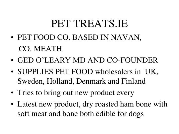 PET TREATS.IE
