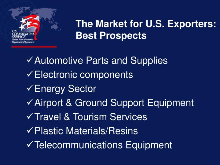 The Market for U.S. Exporters: