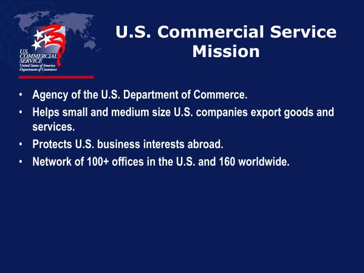 U.S. Commercial Service Mission