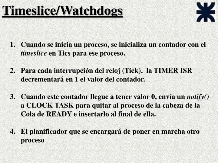 Timeslice/Watchdogs