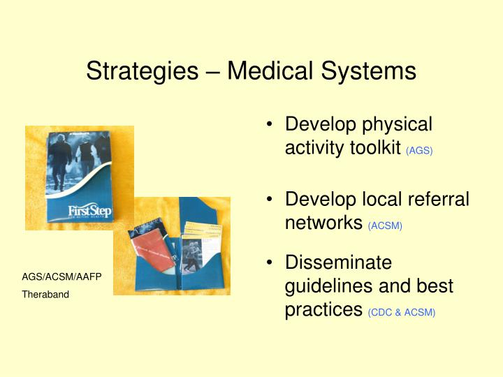 Strategies – Medical Systems