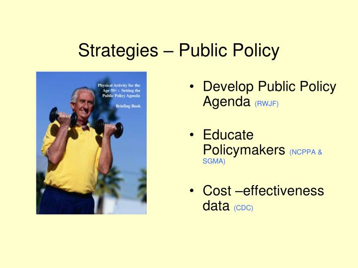 Strategies – Public Policy