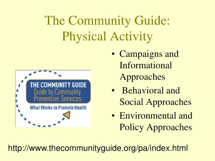 The Community Guide: