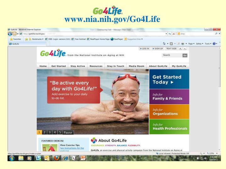 www.nia.nih.gov/Go4Life