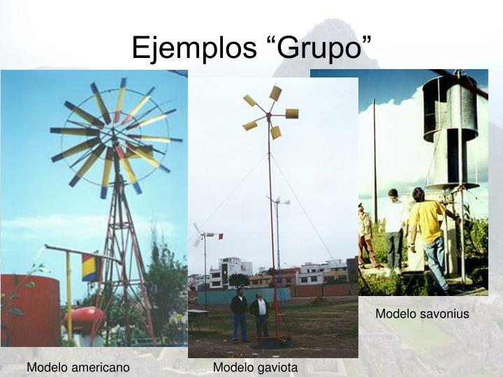 "Ejemplos ""Grupo"""
