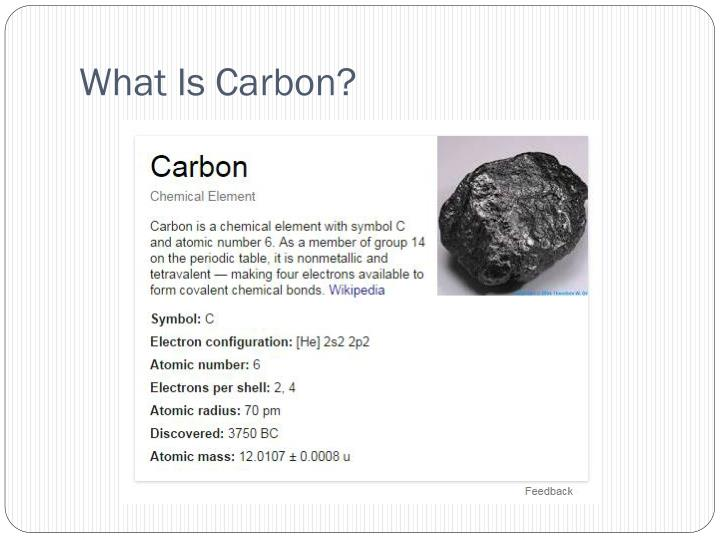 What is carbon
